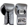 Cleto Reyes Professional Fights Boxing Gloves Silver Bullet