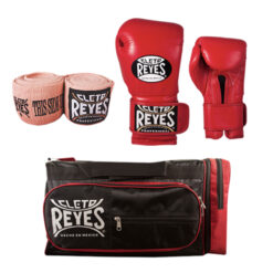 Cleto Reyes Compression Handwraps - Hook and Loop Gloves - Gym Bag