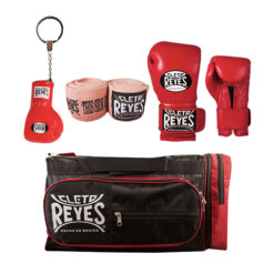 Cleto Reyes Plastic Glove Keyring - Compression Handwraps - hook and loop gloves - Gym Bag