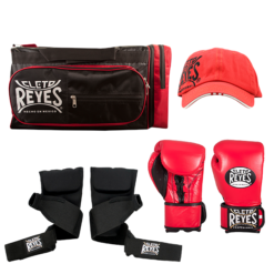 Cleto Reyes Gym Bag - Cap - Evolution Handwraps - Hybrids Gloves