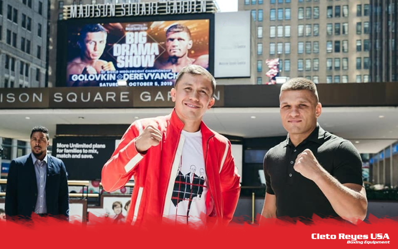 BIG DRAMA SHOW BACK TO THE MADISON SQUARE GARDEN RING