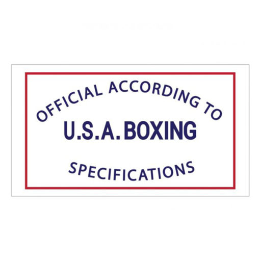 Official Acording to U.S.A. Boxing Specifications