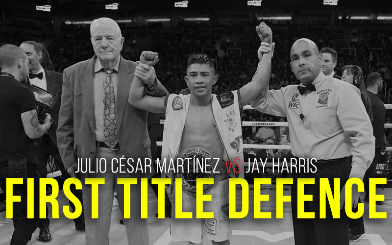 Julio Cesar Martinez vs Jay Harris First Tittle Defence