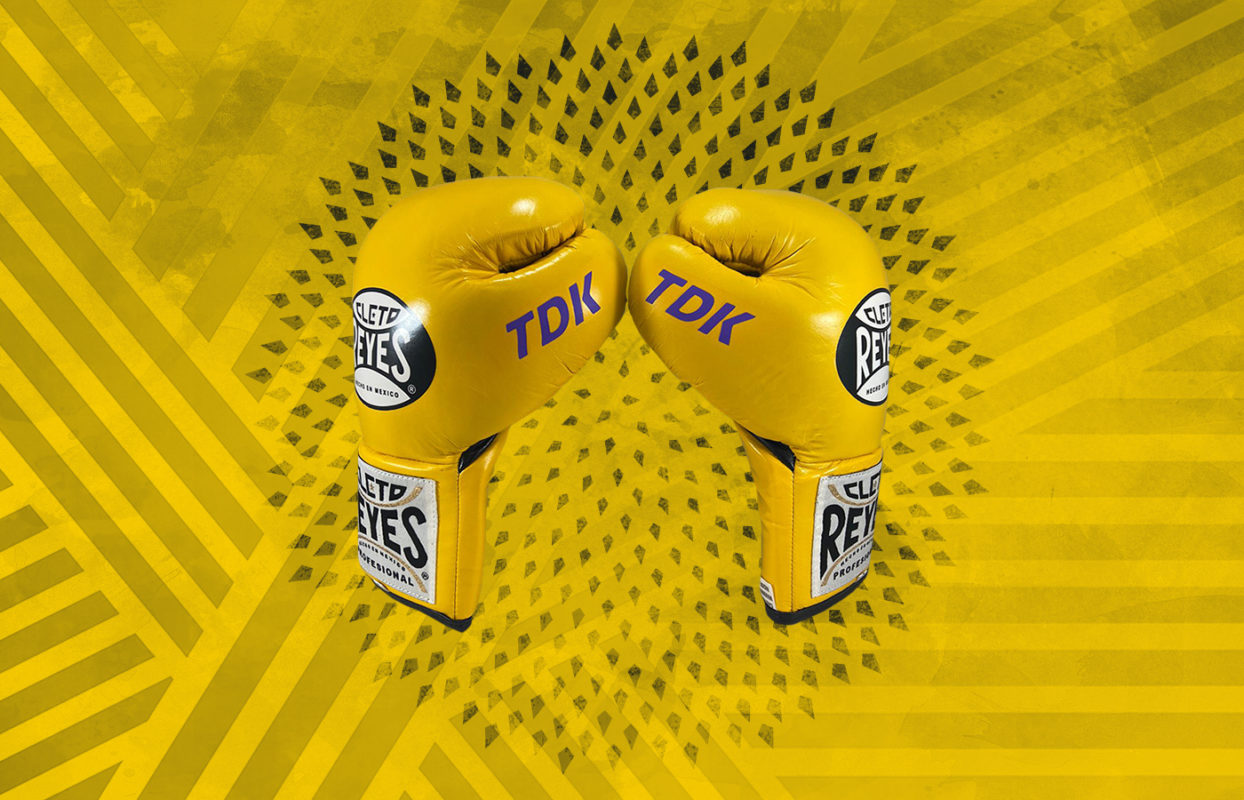 Customization - Cleto Reyes Professional Boxing Gloves - Brillant Yellow