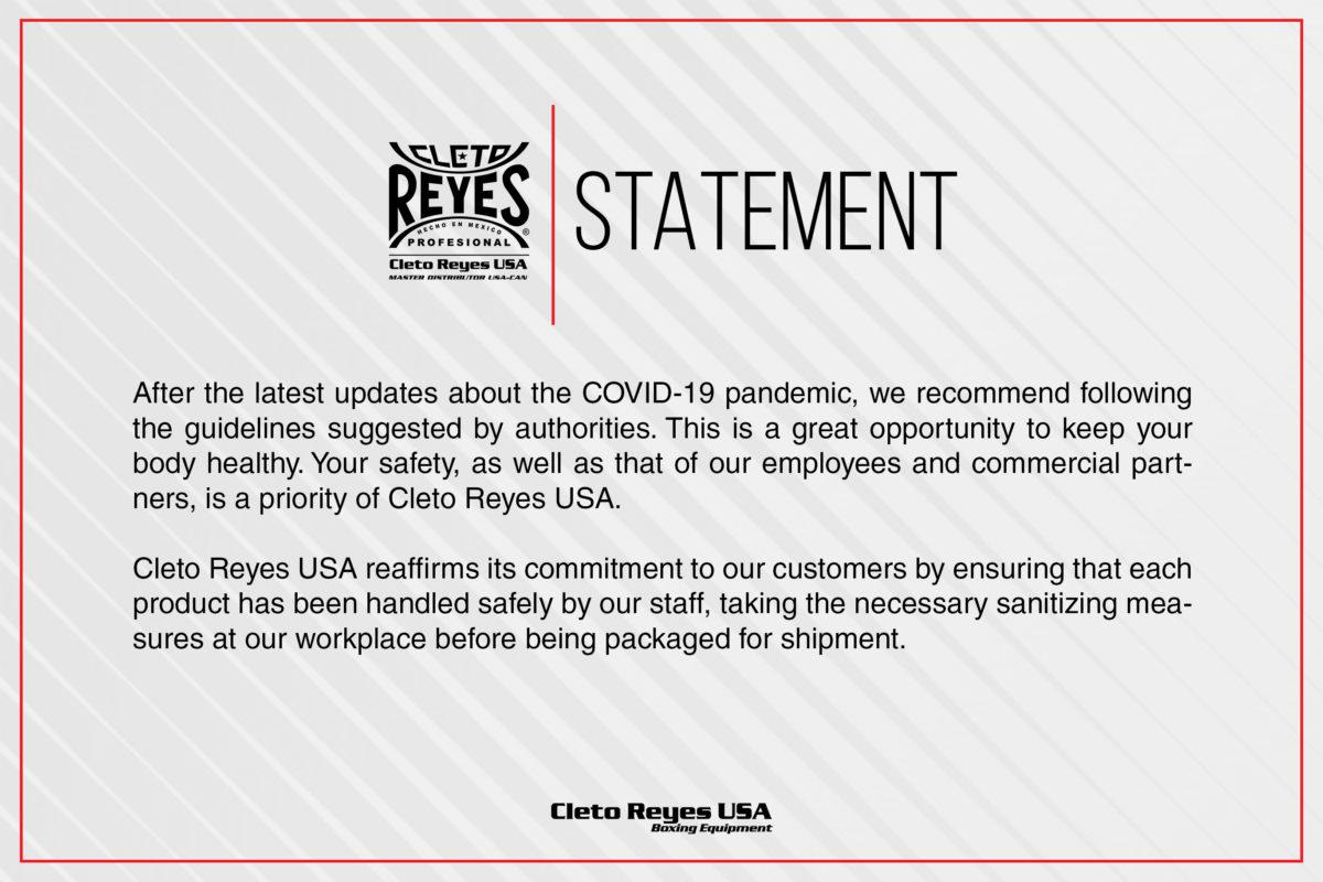 Cleto Reyes Statement