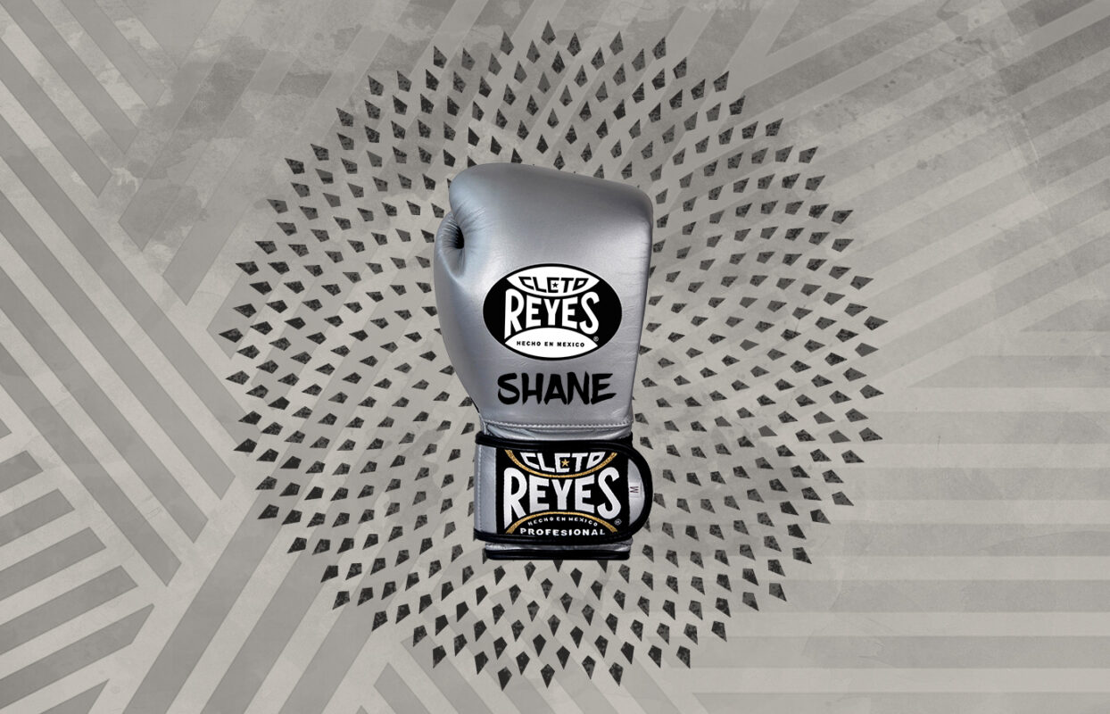 Customization - Cleto Reyes Training Gloves with Hook and Loop Closure - Silver Bullet
