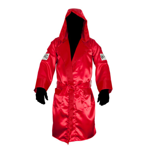 Cleto Reyes Robe With Hood - Extra Large -Red