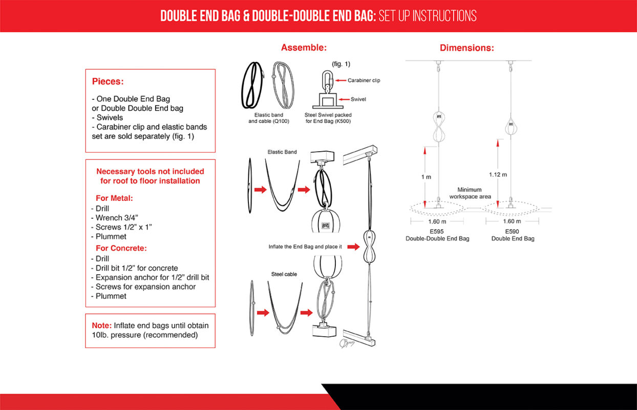 Manual Double End Bag - Double Double End Bag