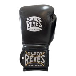 Cleto Reyes Training Gloves with Hook and Loop Closure - Black - Display Product