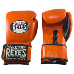 Cleto Reyes Hybrid Gloves - Tiger Orange - Display Product