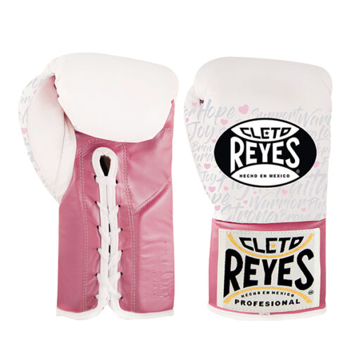 Cleto Reyes Professional Boxing Gloves - Pink Fighter