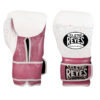 Cleto Reyes Training Gloves with Hook and Loop Closure – Pink Fighter