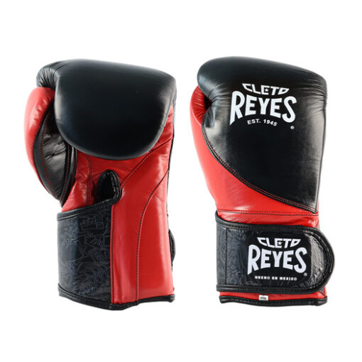Cleto Reyes High Precison Boxing Gloves - Black-Red