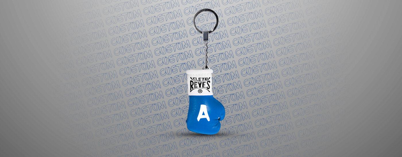 Customization - Cleto Reyes Keyring - Electric Blue