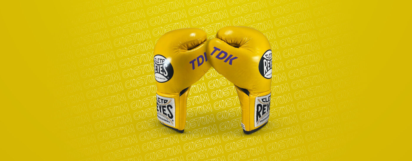 Customization - Cleto Reyes Professional Gloves - Brillant Yellow