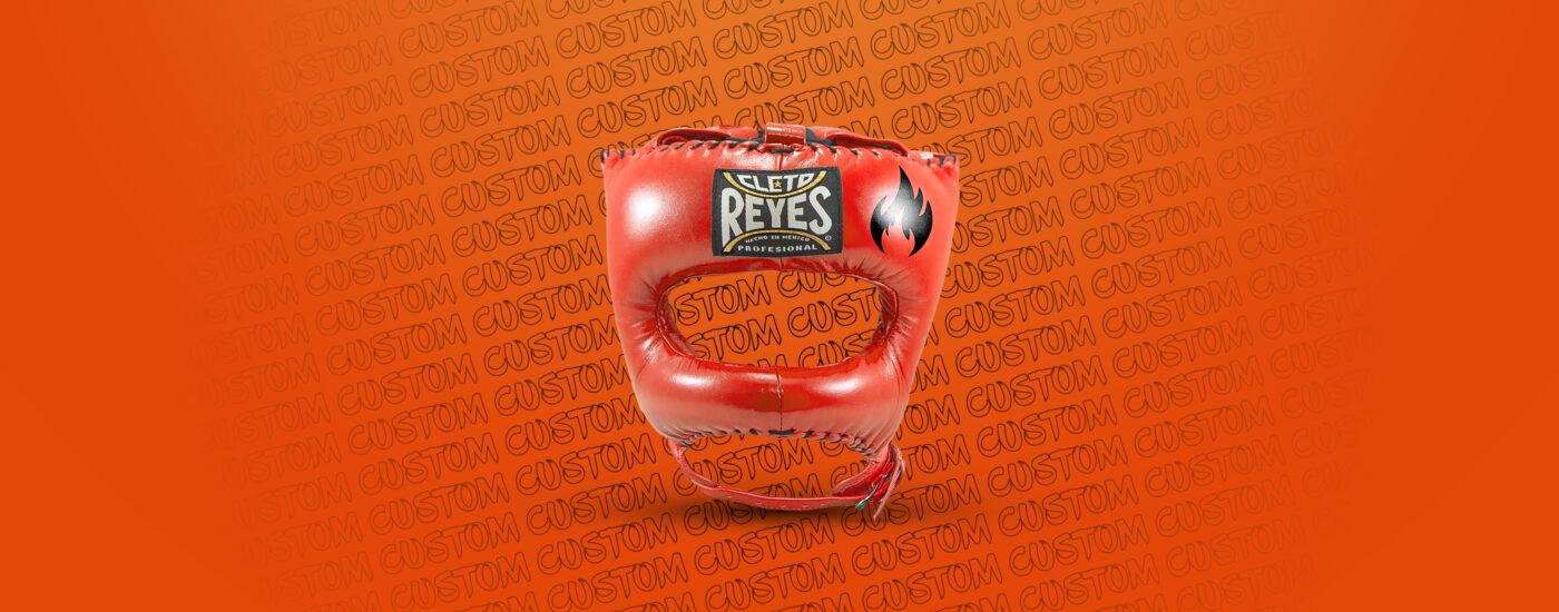 Customization - Cleto Reyes Traditional Headgear - Tiger Orange