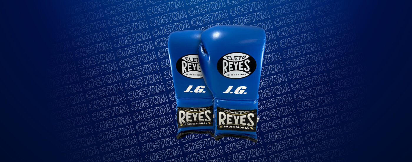 Customization - Cleto Reyes Traditional gloves - Electric Blue