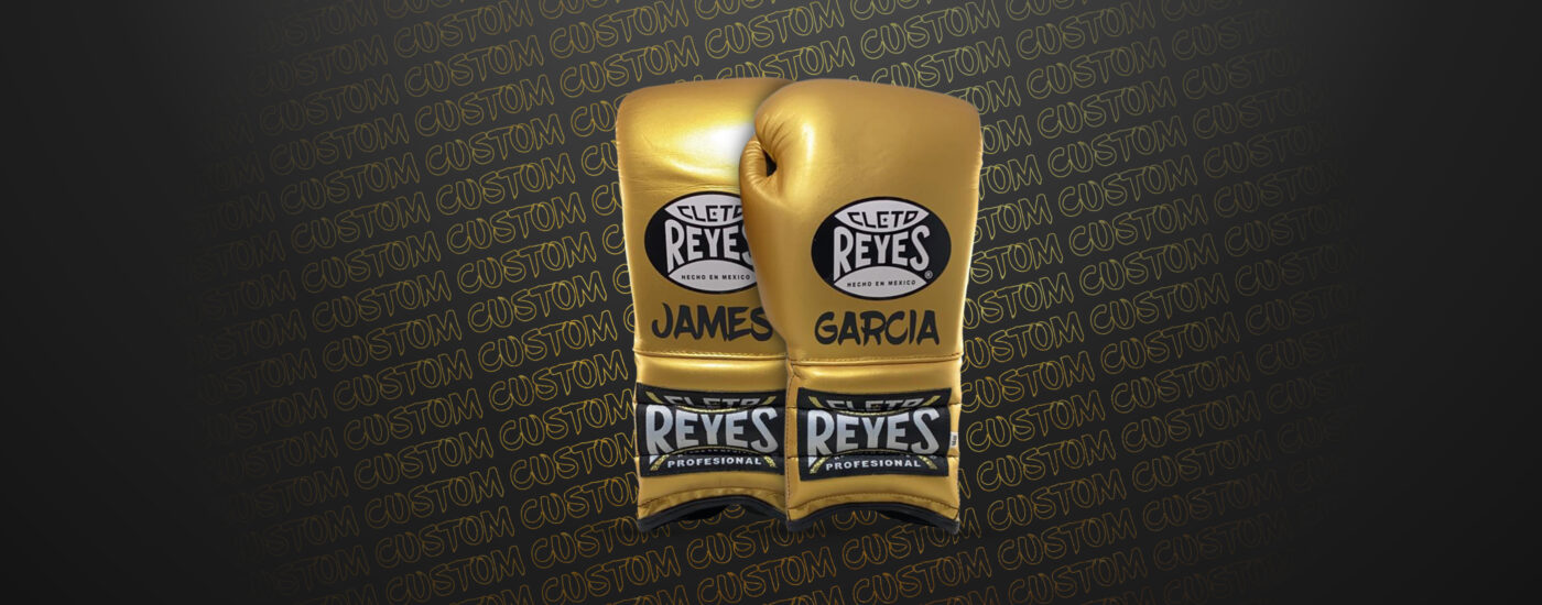 Customization - Cleto Reyes Traditional gloves - Solid Gold